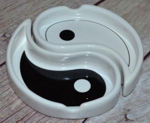 Scrumiera Yin Yang