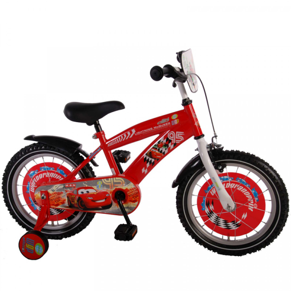 "BICICLETA COPII 16"" DISNEY CARS"