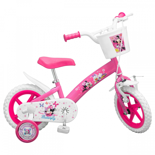 "BICICLETA COPII TOIMSA 12"" PINK MINNIE MOUSE"