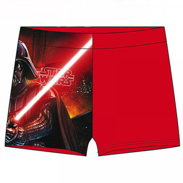 BOXER BAIE BAIETI RED LIGHT STAR WARS