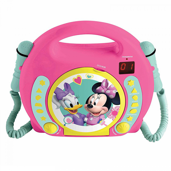 CD-PLAYER CU 2 MICROFOANE MINNIE MOUSE