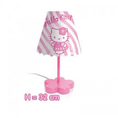 LAMPA DE MASA FLOWER HELLO KITTY