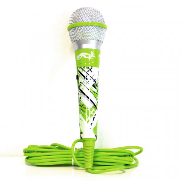 MICROFON GREEN COLOR MIC IDANCE