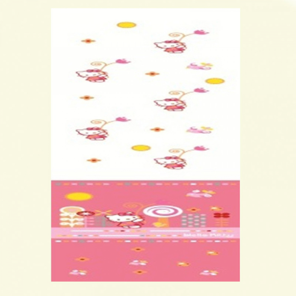 PERDEA SUMMER HELLO KITTY 140x290CM