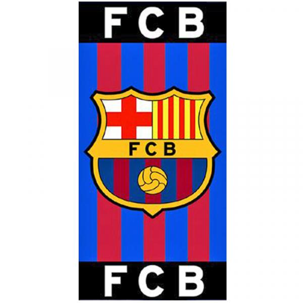 PROSOP DE BAIE SAU PLAJA 100x180CM FC BARCELONA