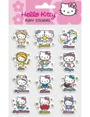PUFFY STICKERE HELLO KITTY