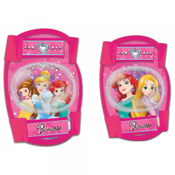 SET PROTECTIE GENUNCHERE/COTIERE DISNEY PRINCESS
