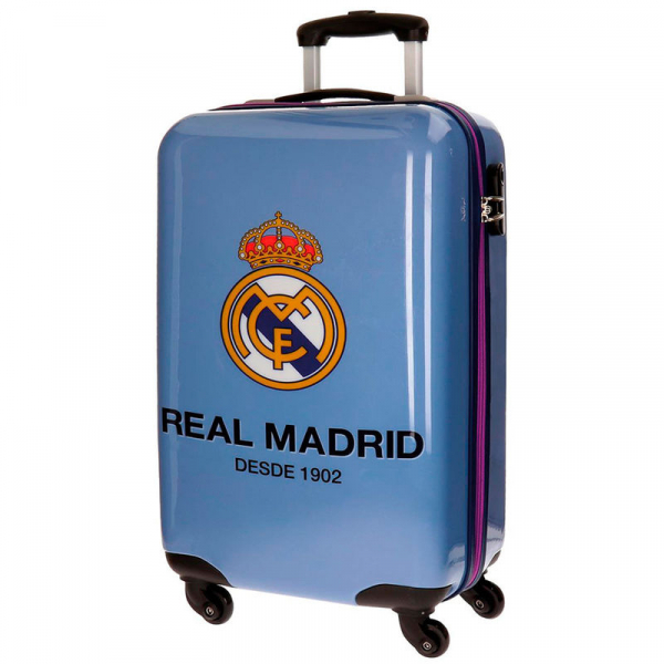 TROLER DE CALATORIE ABS 55CM REAL MADRID