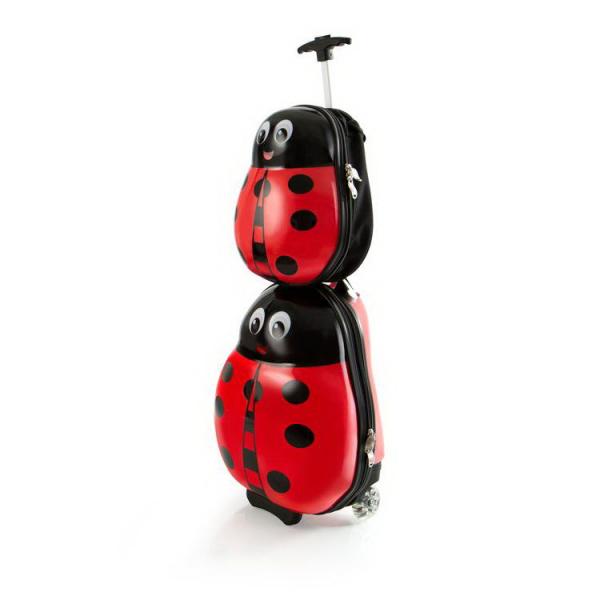 set-troler-calatorie-si-ghiozdan-copii-ladybug-buburuza