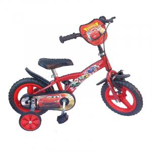 Bicicleta copii - baieti, Disney Cars, 12 inch, 3-5 ani