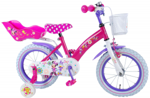 "BICICLETA COPII 14"" DISNEY MINNIE MOUSE BOW-TIQUE LUX"