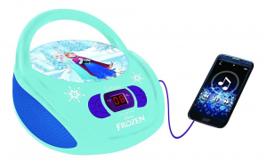 BOOMBOX  RADIO/ CD PLAYER DISNEY FROZEN