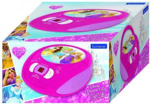 BOOMBOX  RADIO/ CD PLAYER DISNEY PRINCESS