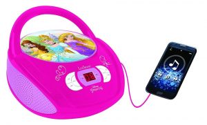 BOOMBOX  RADIO/ CD PLAYER DISNEY PRINCESS