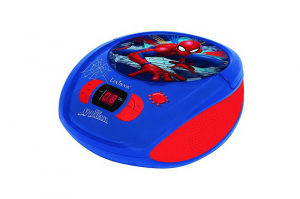 BOOMBOX  RADIO/ CD PLAYER  SPIDERMAN