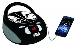 BOOMBOX  RADIO/ CD PLAYER  STAR WARS