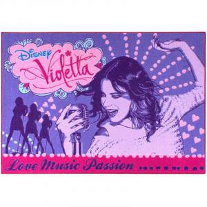 COVOR LOVER MUSIC VIOLETTA 95X133CM
