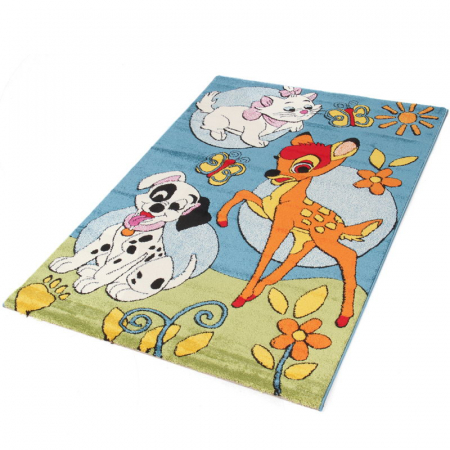 COVOR PREMIUM BAMBY AND FRIENDS 133X190CM