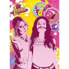 Covor camera copii, Disney Soy Luna Kisses, 95x133 cm, Antiderapant