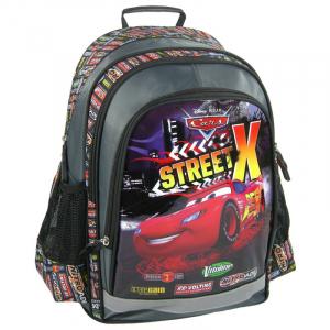 Ghiozdan scoala copii, Baieti, Street X Disney CARS, 39 cm