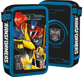 Penar scoala, echipat, dublu(2 compartimente), Baieti, Transformers