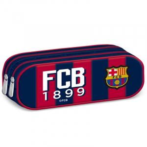 Penar scoala, neechipat, dublu (2 compartimente), Baieti, FC Barcelona