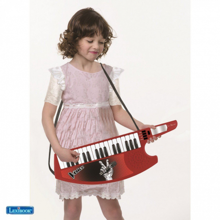 Orga electronica copii portabila, 32 clape, Vocea Romaniei
