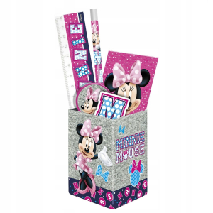 SET RECHIZITE CU SUPORT PIXURI DISNEY MINNIE MOUSE