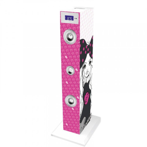 SISTEM AUDIO BLUETOOTH CU MICROFON KARAOKE ROCK GIRL BIGBEN