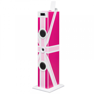 SISTEM AUDIO PINK LONDON TOWER BIGBEN