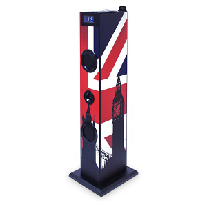 SISTEM AUDIO BLUETOOTH CU MICROFON KARAOKE LONDON  BIGBEN