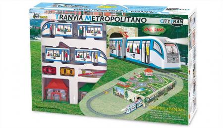 Trenulet electric Tramvai Metropolitan PEQUETREN 107