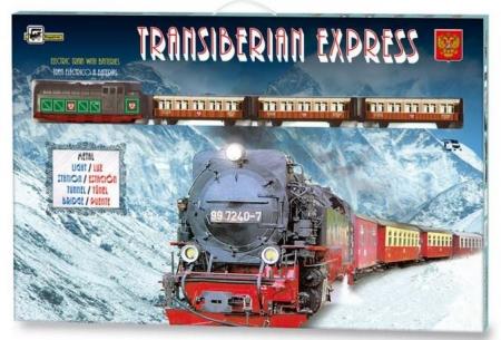 TRENULET ELECTRIC TRANS-SIBERIAN EXPRESS PEQUETREN