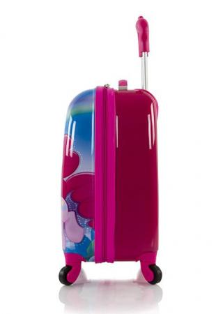 Troler calatorie ABS Copii - Fete, Heys, My Little Pony, Roz, 46 cm