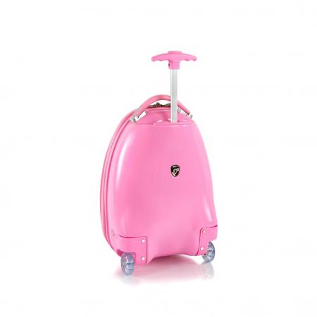 Troler calatorie ABS Copii - Fete, Heys, Peppa Pig, Roz, 46 cm