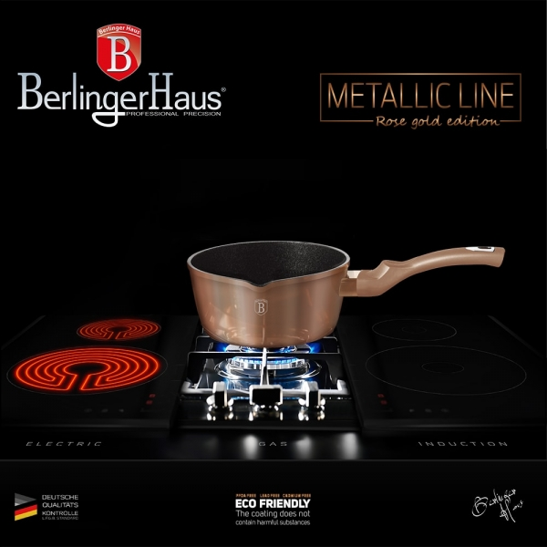 Cratita 16 cm Rose Gold (Cupru) Metalic Line Berlinger Haus BH 1513N