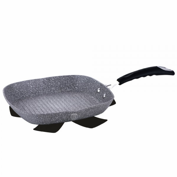 Tigaie Grill 28 cm Gray Stone Touch Line Berlinger Haus BH 1163N