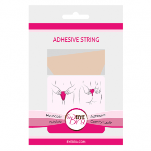 BYE BRA - ADHESIVE STRING NUDE ONE SIZE