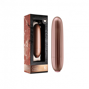 ROCKS-OFF - COCO BULLET VIBRATOR ROSE GOLD