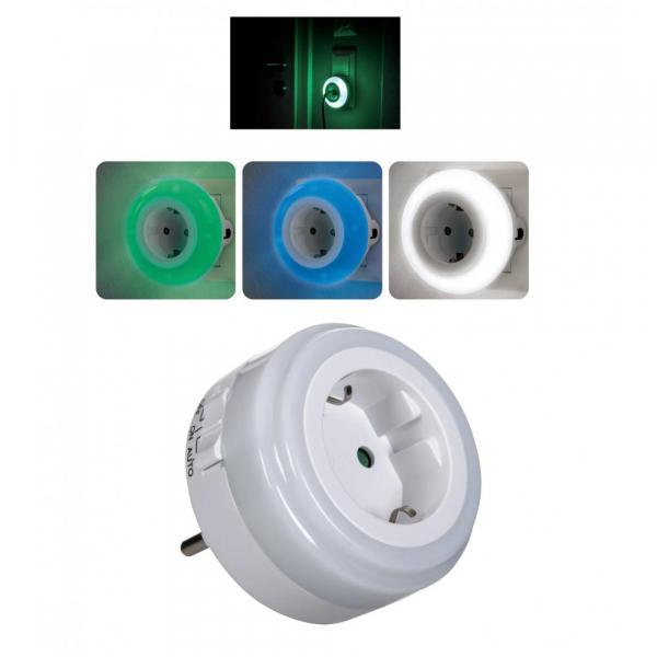 Prizacu senzor lumina de veghe zi/noapte si 3 LED-uri