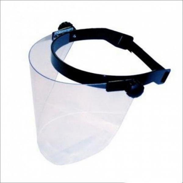 Masca universala de protectie reglabila cu ecran plastic policarbonat