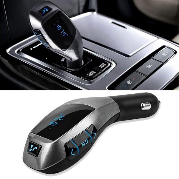 Modulator auto X6 cu bluetooth, FM, MP3 player