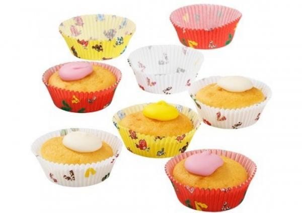 Set cupe decorative pentru briose
