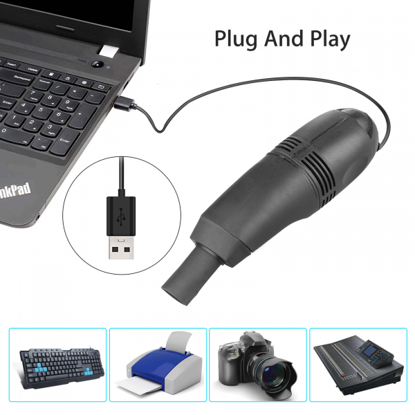 Mini aspirator usb vacuum pentru tastatura, laptop, pc