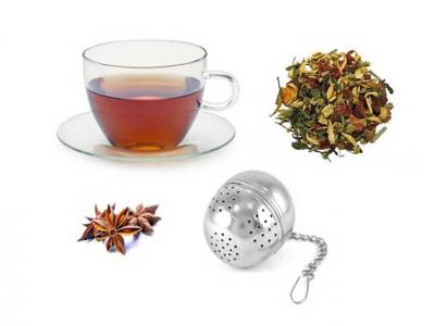 Infuzor pentru ceai, cafea sau ierburi aromate