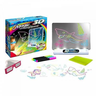Set tabla magica cu desene 3D Magic Board