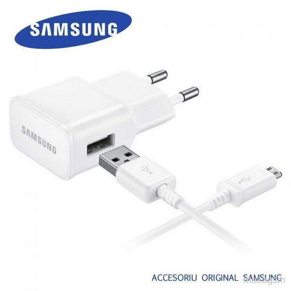Incarcator retea Samsung Galaxy S5 G900 G901 G903 2A alb Original