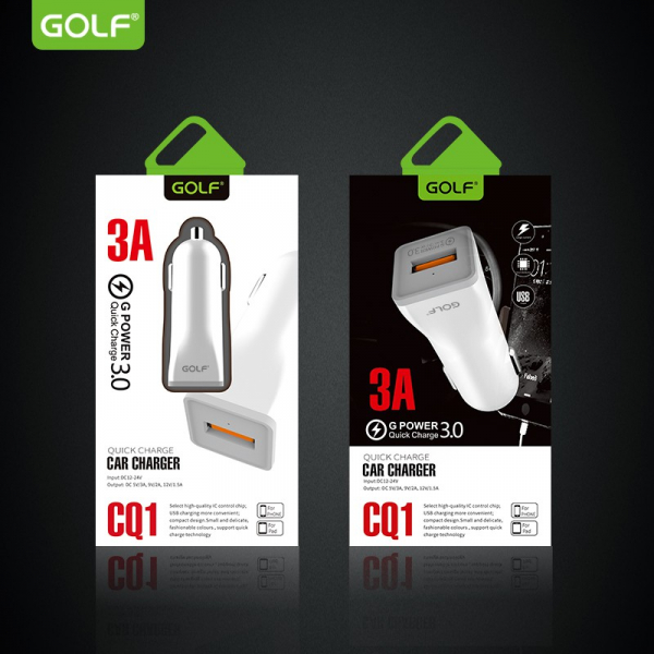 Incarcator auto Golf QuickCharge 3.0