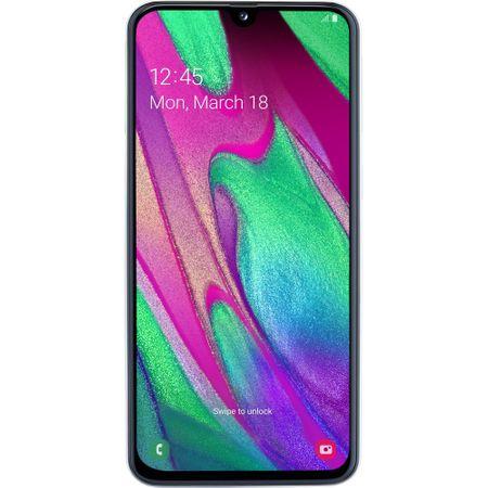 Telefon mobil Samsung Galaxy A40, Dual SIM, 64GB, 4G, Alb