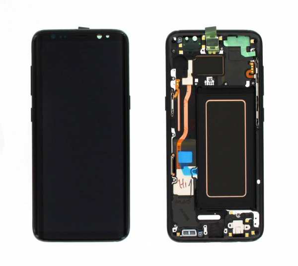 Ecran Display cu rama Samsung Galaxy S8 G950f Negru FTVA